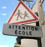 attention école
