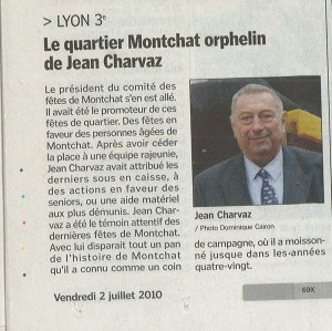 Article Jean Charvaz
