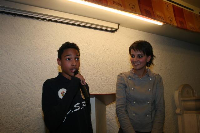 Lilian, Jeune sapeur pompier