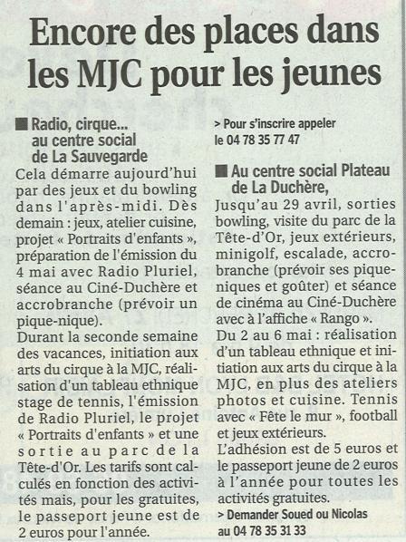 MJC Duchère