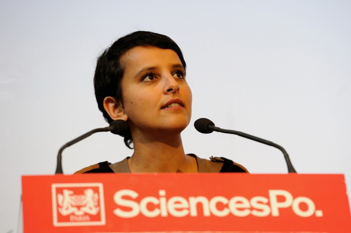 Najat Vallaud-Belkacem à Sciences-Po pour Presage