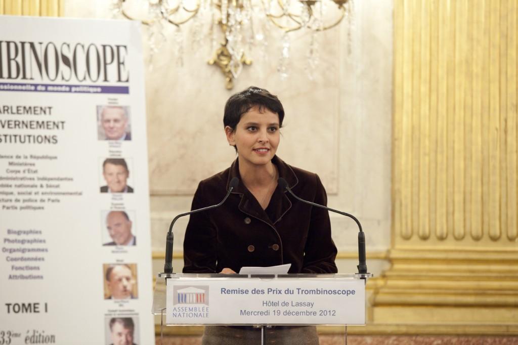 NajatVallaud-Belkacem : Prix de la Révélation Politique 2012