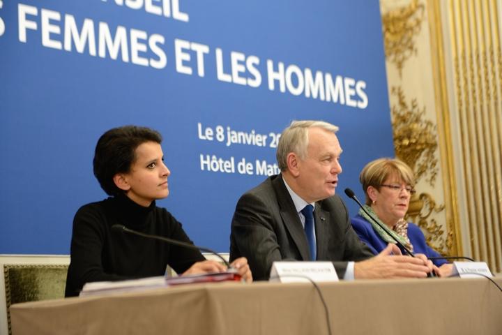 Installation du Haut Conseil à l'Egalité