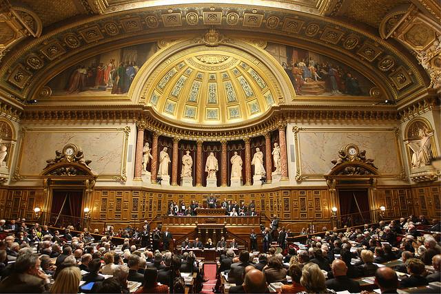 Hémicycle du Sénat - CC Sénat