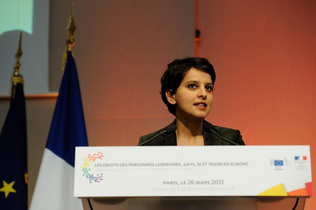 Najat Vallaud-Belkacem : Conférence européenne contre les discriminations liées à l'orientation sexuelle et l'identité de genre