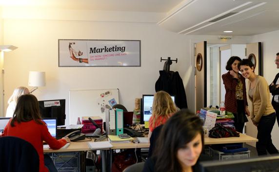 Entrepreneuriat - visite de Sarenza.com