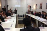 Visite de travail au Planning Familial 13 à Marseille