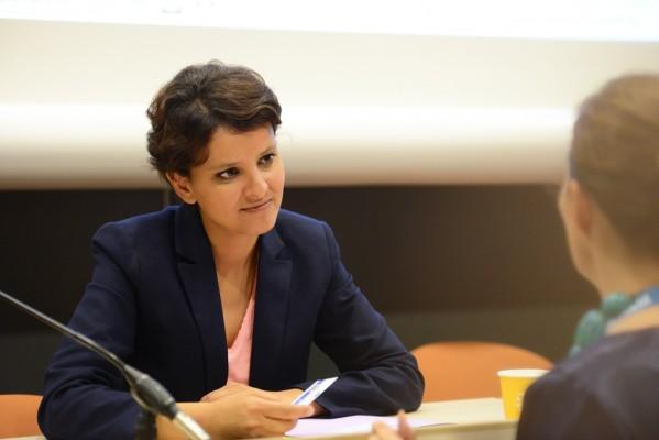 Najat Vallaud-Belkacem en entretien - Photo © Razak
