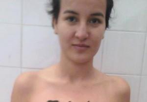 Amina 1ère militante Femen tunisienne