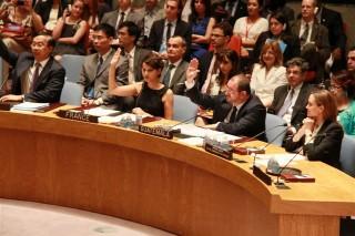 Intervention au Conseil de Sécurité des Nations Unies sur les violences sexuelles dans les conflits