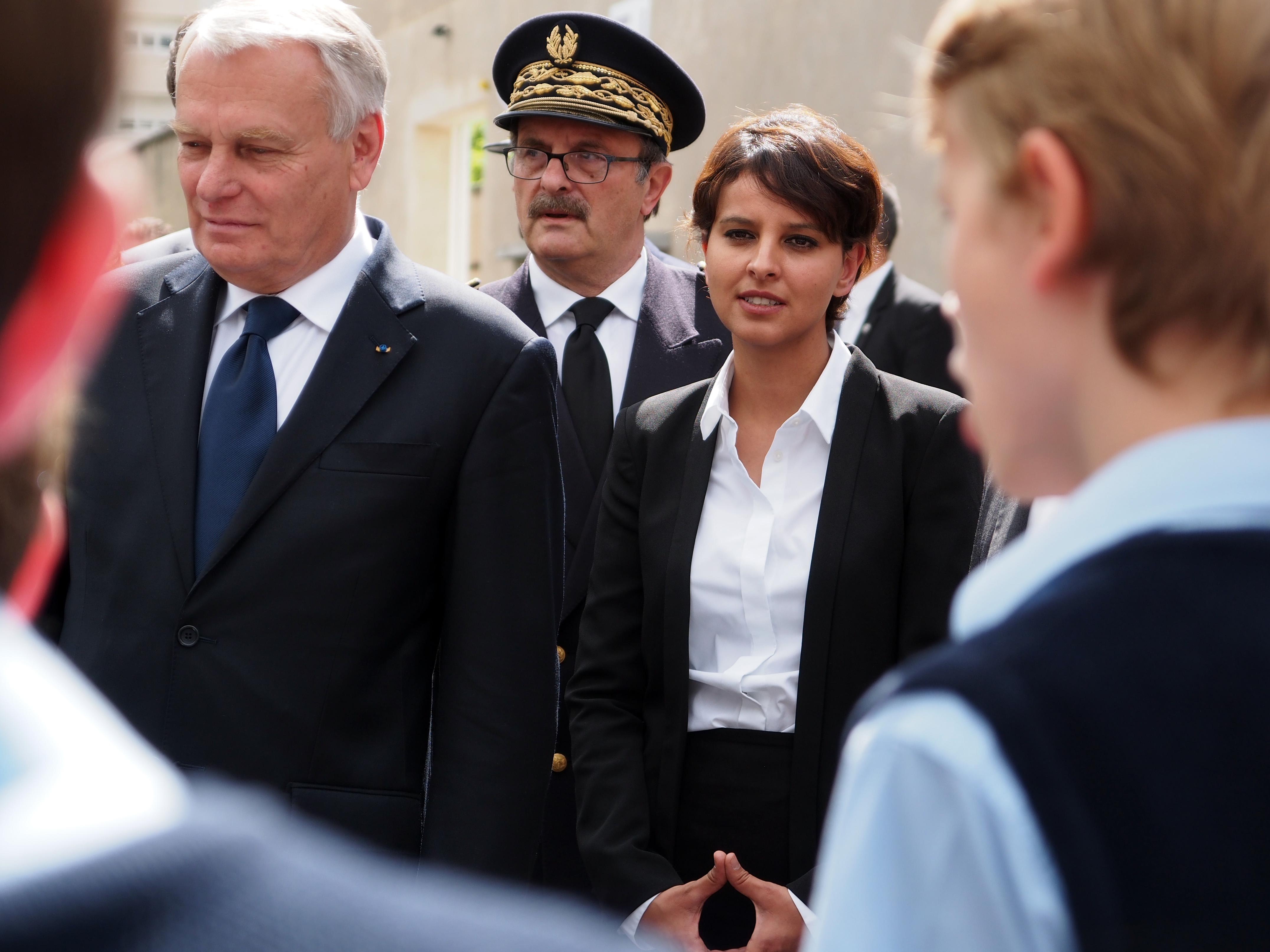 Hommage à Jean Moulin avec le Premier ministre, Jean-Marc Ayrault