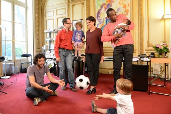 Najat Vallaud-Belkacem : Coulisses de la Une de 20 Minutes « Égalité, Paternité »