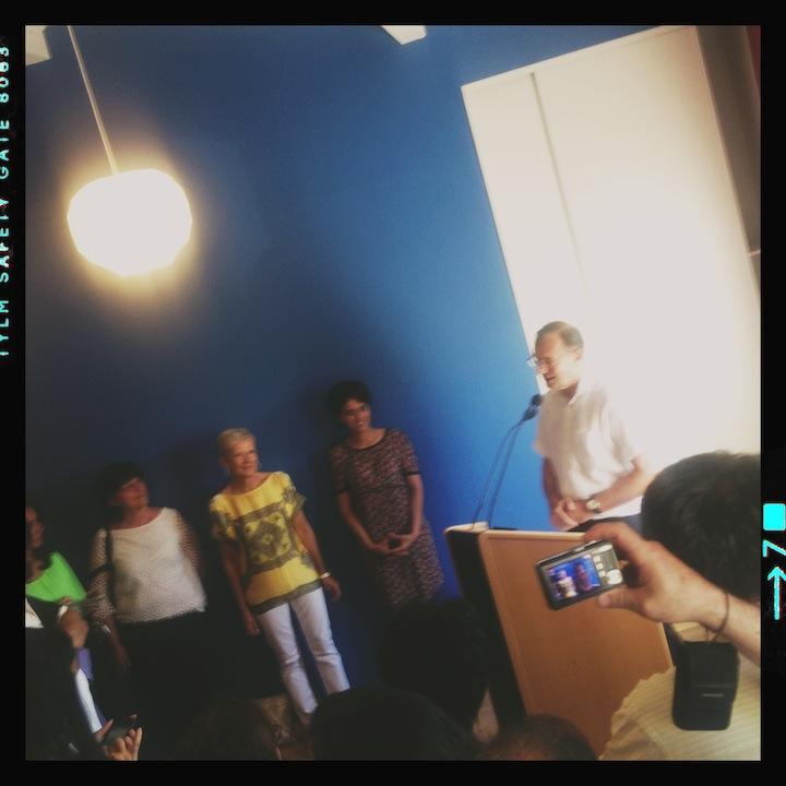 Inauguration de la permanence d'Yves Blein