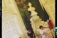 Remise de la légion d'honneur à Bernadette Pizzuti, militante du vivre-ensemble