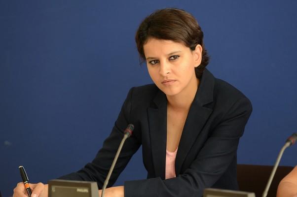 Najat Vallaud-Belkacem Portrait