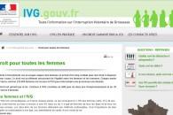 IVG.gouv.fr, 1er sur internet, merci pour votre mobilisation !