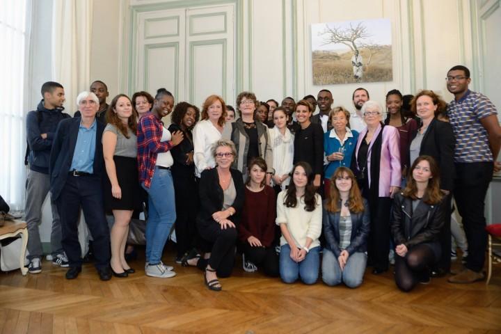 Najat Vallaud-Belkacem : 4 générations féministes autour et en hommage à Benoîte Groult