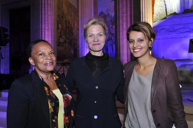 Najat Vallaud-Belkacem, Christiane Taubira et