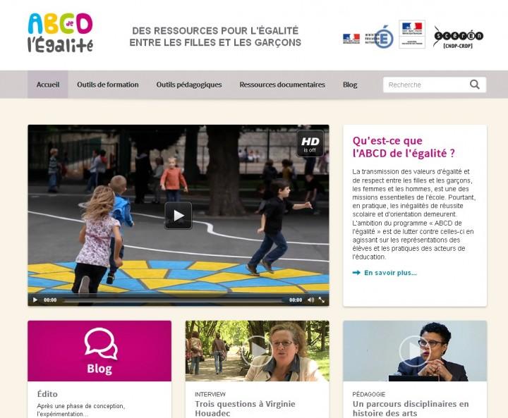 Site ABCD de l'Égalite