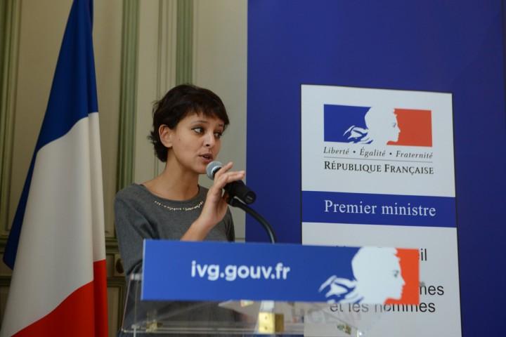 Najat Vallaud-Belkacem : IVG.gouv.fr