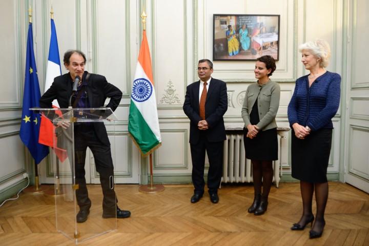 Vernissage de l'exposition « Elles changent l'Inde »