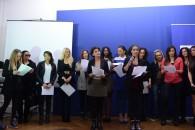 Présentation du clip musical Unissons Nos Voix contre les violences envers les femmes