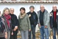 Visite de l'Espace Elsa-Triolet avec les responsables associatifs