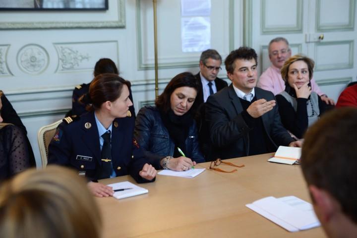 Groupe Travail Simplication de la prise en charge des victimes de Viol - Photo © Razak