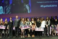 La soirée de remise des prix du concours ÉgalitéÉ 2014