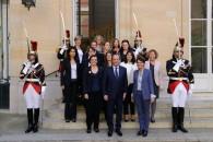 Échange avec le président François Hollande et 13 femmes cheffes d'entreprise