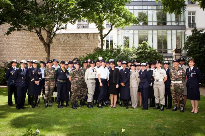 14 Juillet 2012 avec les femmes militaires