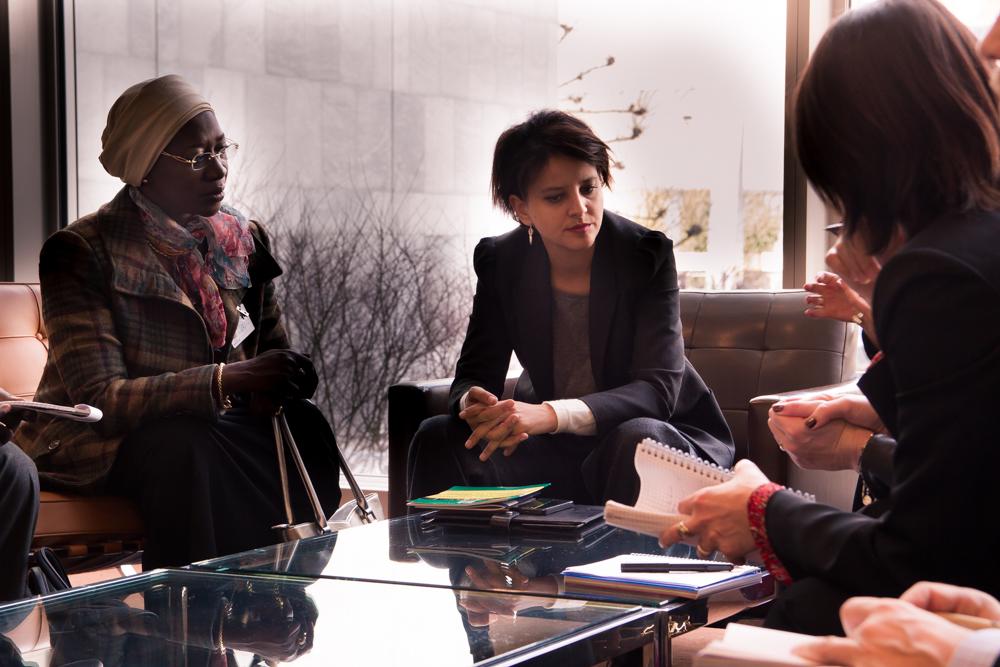 Rencontre avec Mme Anta Sarr, Ministre de la Femme, de la Famille et de l'Enfance du Sénégal