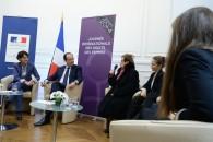 Le Président de la République rencontre 3 générations de femmes au ministère