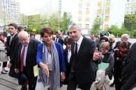 Najat Vallaud-Belkacem appelle à davantage de «lisibilité» dans la politique de la Ville