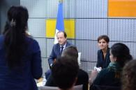 """Le président à Villiers-le-Bel """"la jeunesse est une chance pour la France"""""""