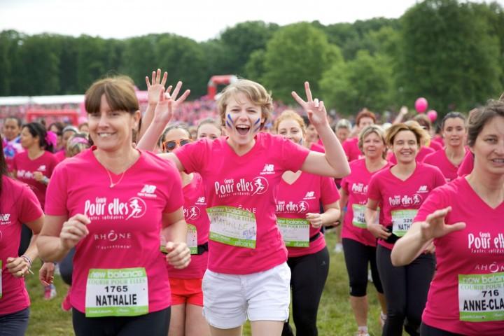 course contre le cancer du sein lyon
