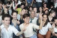 Avec le Pr. Yunus et MakeSense à la rencontre des jeunes entrepreneurs sociaux