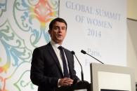 """Le Premier ministre Manuel Valls au Sommet mondial des femmes : """"l'Égalité femmes-hommes une priorité"""""""