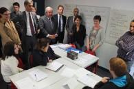Najat Vallaud-Belkacem salue la mobilisation euroise autour de la garantie jeunes