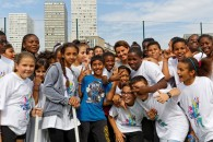 Journée nationale du sport scolaire : visite à la halle Carpentier