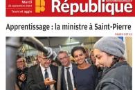 La ministre au coin de l'établi – Reportage de la Nouvelle République