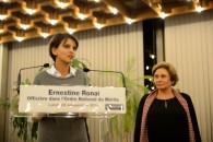 Discours de promotion d'Ernestine Ronai au grade d'Officier de l'Ordre National du Mérite