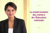 Modernisation des métiers de l'Éducation nationale – le message de la ministre