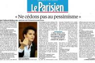 École : ne cédons pas au pessimissme – L'entretien au Parisien