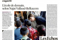 L'école de demain, selon Najat Vallaud-Belkacem – Les Echos