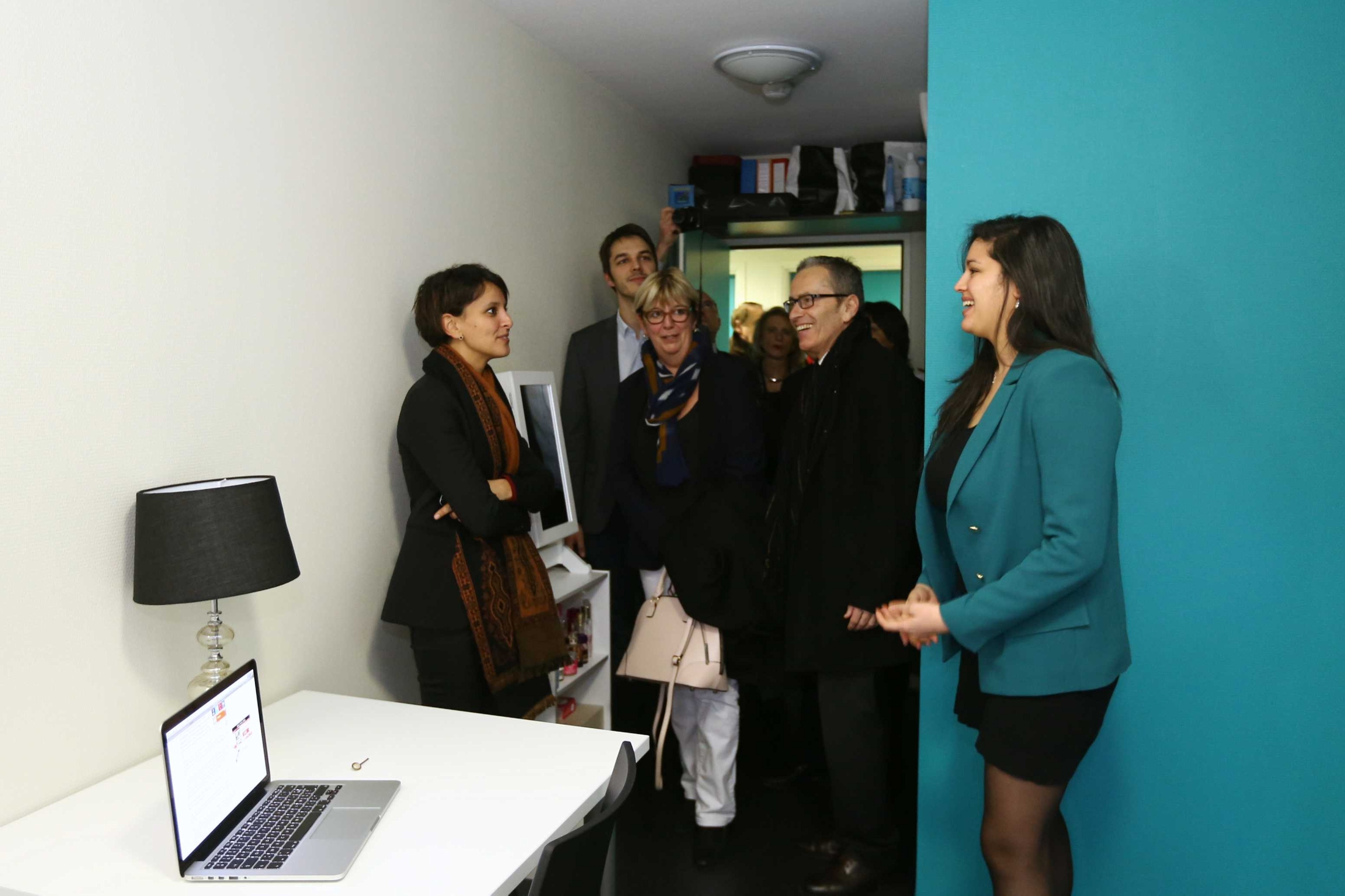 Inauguration de la résidence étudiante Bugeaud de Lyon | Najat ...