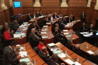 Toute dernière séance au Conseil Général du Rhône. Merci à tous.