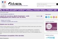 Liberté d'expression, liberté de conscience : quelques outils pour travailler avec les élèves.