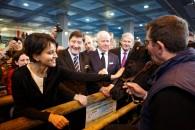 En images : la visite au Salon de l'Agriculture avec Stéphane Le Foll et Patrick Kanner