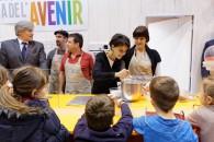 Najat Vallaud-Belkacem et Stéphane Le Foll réaffirment l'importance de l'éducation à l'alimentation des jeunes